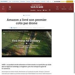 Amazon a livré son premier colis par drone