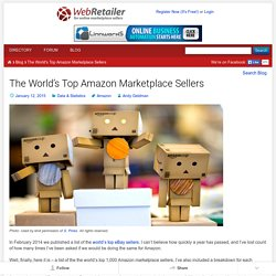 The World's Top Amazon Marketplace Sellers