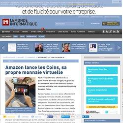 Amazon lance les Coins, sa propre monnaie virtuelle
