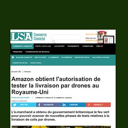 Amazon obtient l'autorisation de tester la...
