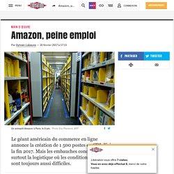 Amazon, peine emploi