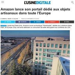 Amazon lance son portail dédié aux objets artisanaux dans toute l'Europe
