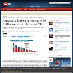 Amazon se lance à la poursuite de Netflix sur le marché de la SVOD - ZDNet