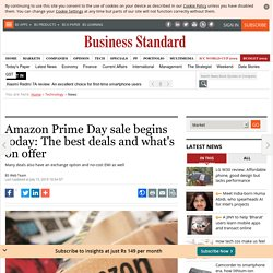 Amazon Prime Day sale begins today: The best deals and what's on offer