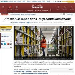 Amazon se lance dans les produits artisanaux