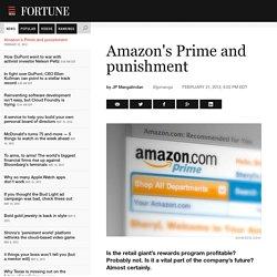 Amazon's Prime andpunishment