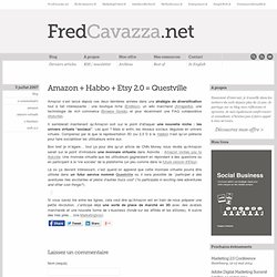 Amazon + Habbo + Etsy 2.0 = Questville