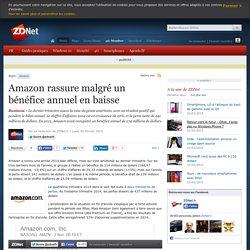 Amazon rassure malgré un bénéfice annuel en baisse