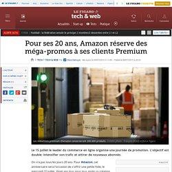 Pour ses 20 ans, Amazon réserve des méga-promos à ses clients Premium
