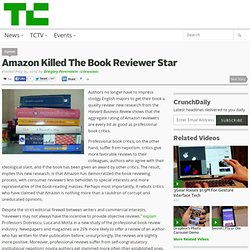 Amazon Killed The Book Reviewer Star