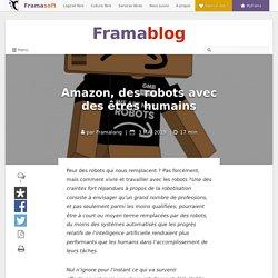 Amazon, des robots avec des êtres humains