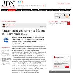 Amazon ouvre une section dédiée aux objets imprimés en3D