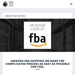 Amazon FBA shipping to UK and USA From China - YFT Logistics FBA shipping from China to UK - Amazon Freight Forwarder