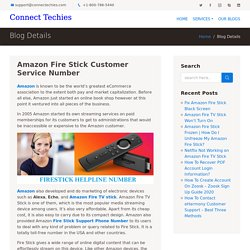 Amazon Fire Stick Customer Support For Fire TV