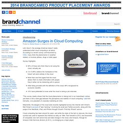 Amazon Surges in Cloud Computing