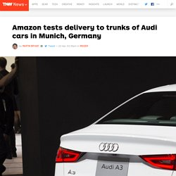 Amazon Tests Delivery to Trunks of Audi Cars