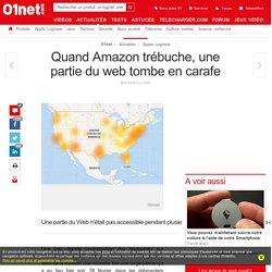 Quand Amazon trébuche, une partie du web tombe en carafe