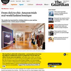 From click to chic: Amazon trials real-world fashion boutique