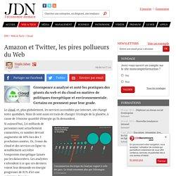 Amazon et Twitter, les pires pollueurs du Web