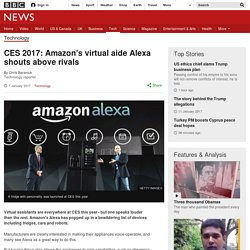 3.7.6 Amazon - Virtual aide Alexa shouts above rivals