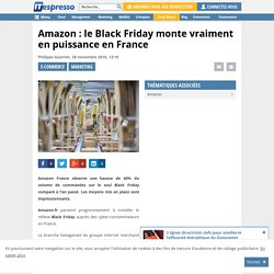 Amazon : le Black Friday monte vraiment en puissance en France