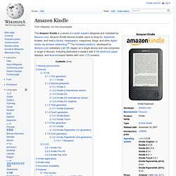 KDP files and Amazon Kindle