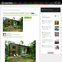 Casas amazonian jungle house - San Diego interior decorating