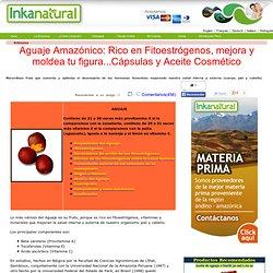 AGUAJE INKANATURA: FRUTO AMAZÓNICO RICO EN FITOESTRÓGENOS, DEFINE Y MEJORA TU FIGURA.