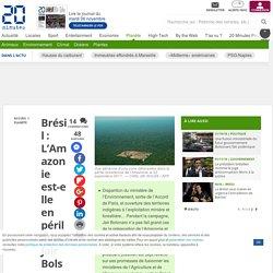 Brésil : L'Amazonie est-elle en péril avec Jair Bolsonaro comme président ? - 20minutes