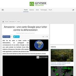 Amazonie : une carte Google pour lutter contre la déforestation