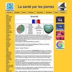 Amazonite Santé Pierres