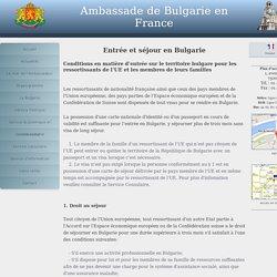 Ambassade de Bulgarie en France
