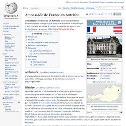 Ambassade de France en Autriche