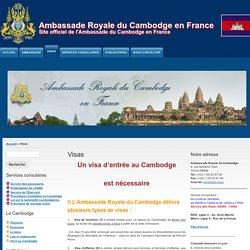 Ambassade Royale du Cambodge en France