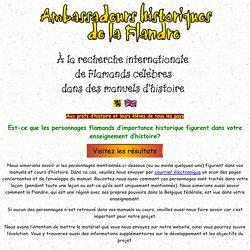 Ambassadeurs historiques de la Flandre
