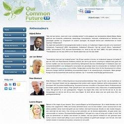 Ambassadeurs - Our Common Future 2.0