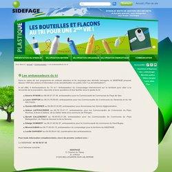 Les ambassadeurs du tri - Sidefage, Syndicat mixte de gestion des déchets