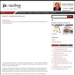 Digital PR: Finding Brand Ambassadors
