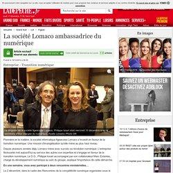 La société Lomaco ambassadrice du numérique - 18/12/2014 - ladepeche.fr