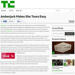 Blog Archive » Amberjack Makes Site Tours Easy