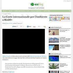 Ambiente, dall'Italia la proposta per una governance mondiale