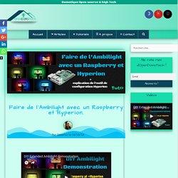 Faire de l'Ambilight avec un Raspberry et Hyperion – OpenDomoTech