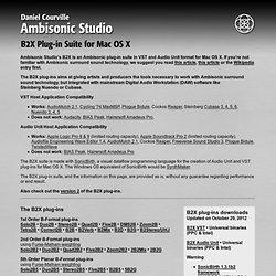 Ambisonic Studio