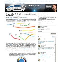 Google+ : la véritable ambition de Google dans le web social