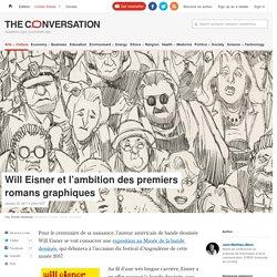 Will Eisner et l'ambition despremiers romansgraphiques