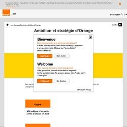 Ambition et stratégie d'Orange - orange.com