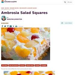 Ambrosia Salad Squares