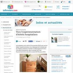 Chirurgie ambulatoire les sénateurs pour les hôtels hospitaliers