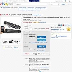 Amcrest 960H-HD-4CH-500GB DVR Security Camera System