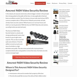 Amcrest 960H Video Security Review